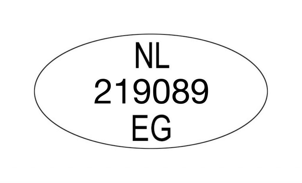 EG nummer NVWA