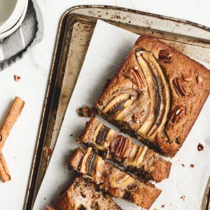 Recept gezonde bananenbrood